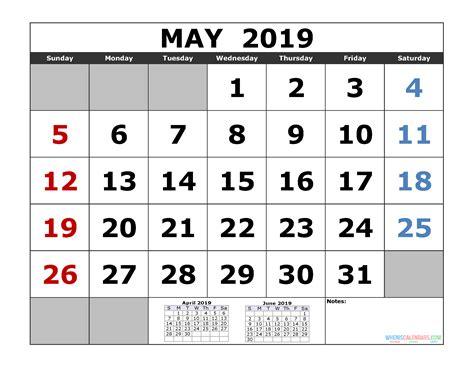 printable calendar template month calendar