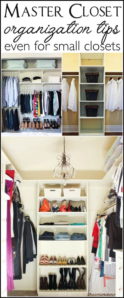 How To Organize The Master Bedroom Closet (no Matter The