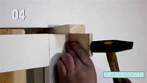 comment poser une porte d39entree design youtube With comment poser une porte d entrée