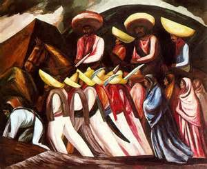zapatista 39 s marching 1931 jose clemente orozco