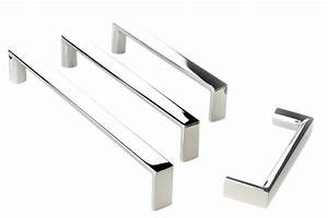C79- Mainz Cabinet Handles in Brushed Stainless Steel