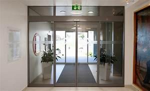 portes automatiques record esthetique et securite galvolux With societe record portes automatiques