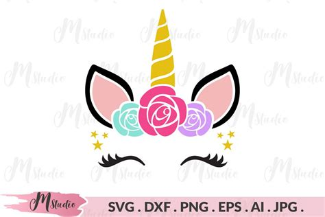 Last few years unicorn is been loved by medias and making girls go crazy these files will make your creativity spark, and be crafty super mom/grandma/lady among unicorn lovers! Unicorn Head flowers svg (153687) | Cut Files | Design Bundles