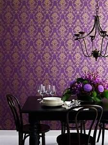 purple/gold wallpaper