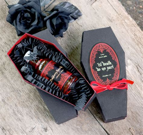 cranberry spice infused vodka diy coffin gift box