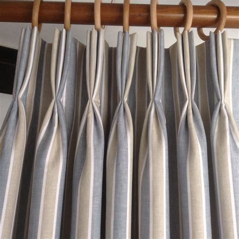 linen triple pleats curtains pinch pleat curtains