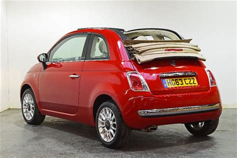 Fiat Lounge Convertible by Used 2013 Fiat 500c 1 2 Lounge Convertible 2dr Petrol