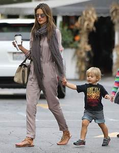 Alessandra Ambrosio in Alessandra Ambrosio & Kids At The ...