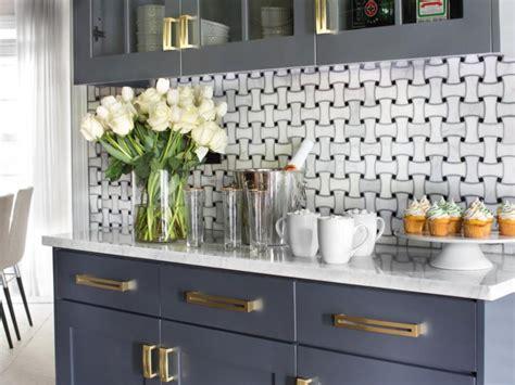 Basket Weave Backsplash : Modern Kitchen Backsplash Ideas For Cooking With Style