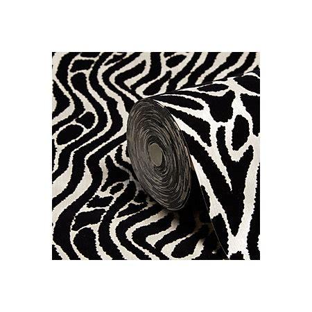 Animal Print Wallpaper B Q - graham brown julien macdonald black silver animal