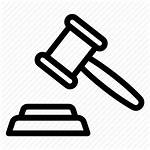 Authority Judge Icon Law Justice Icons Office