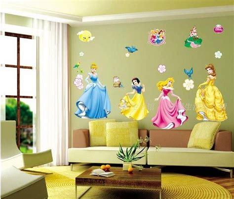 Little girls room decorating ideas. Disney Princess Removable Girls Wall Sticker Nursery Decor Kids Decal Art