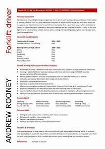 Forklift Driver Resume Template Student Entry Level Forklift Driver Resume Template