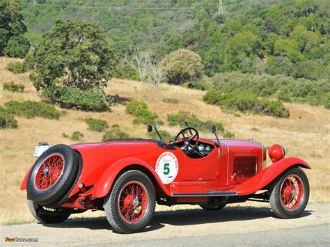 Pictures Of Alfa Romeo 6c 1500 Sport Spider Tre Posti