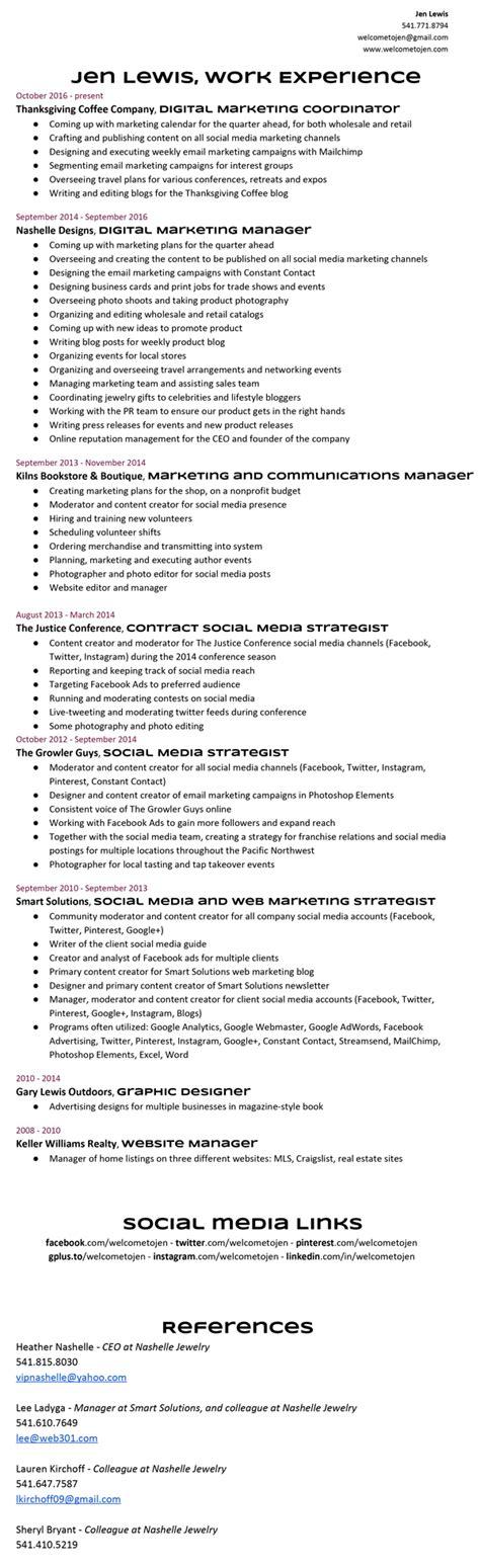 resume exles pdf free social work resume