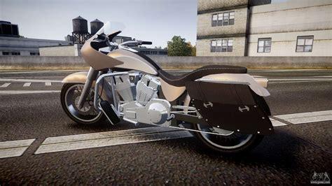 Gta V Western Motorcycle Company Bagger For Gta 4
