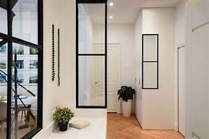 Miroir Effet Verrière : appartement lyon un haussmannien de 115 m2 qui invite au voyage c t maison ~ Teatrodelosmanantiales.com Idées de Décoration