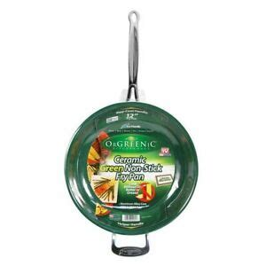 orgreenic   frying pan ceramic cookware cook delicious healthy recipes   ebay