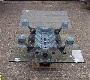 Engine block coffee table items for the road ahead for Engine block coffee table