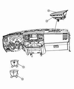 Dodge Ram 1500 Air Bag  Passenger   J3  Advanced