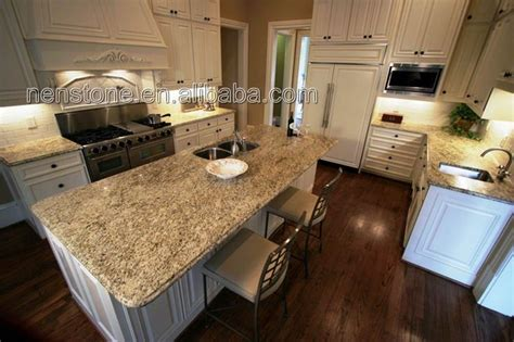 what giallo ornamental looks like with cabinets
