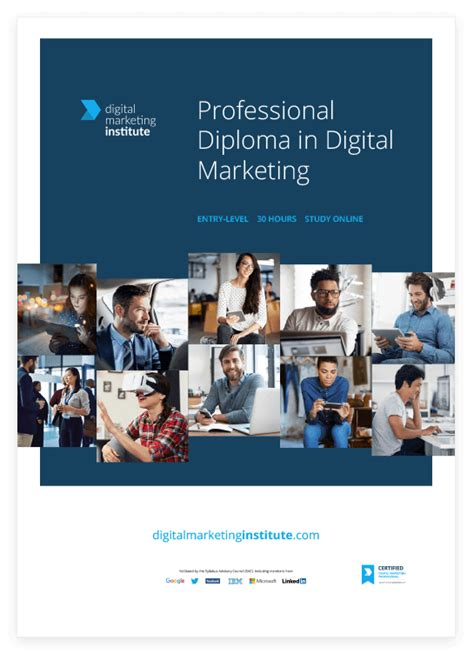 recognised digital marketing courses digital marketing professional diploma enrolling now dmi