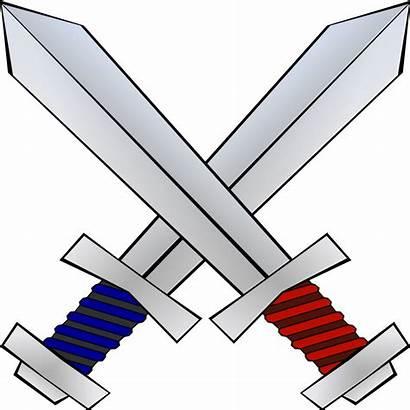 Svg Swords Pixels Wikimedia Commons Nominally Kb