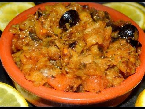 cuisine marocaine facile et rapide cuisine marocaine 1 recette rapide et facile de zaalouk