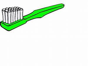 Green Toothbrush clip art - vector clip art online ...