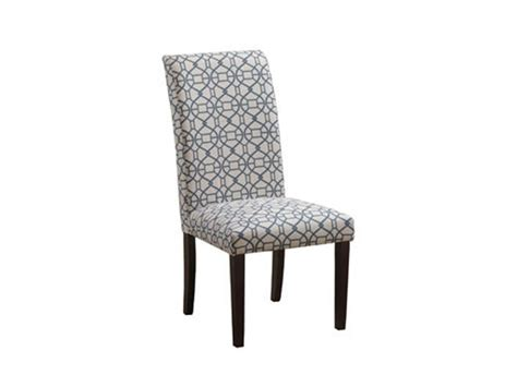 Parsons Dining Chairs Cheap powell furniture dining room blue parson chair 14d2023bl