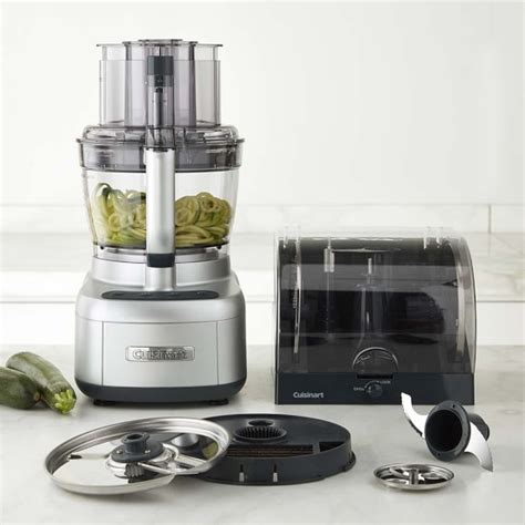 cuisinart home cuisine cuisinart elemental 13 cup food processor with spiralizer