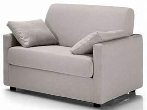 Canapé Lit Une Place : fauteuil convertible federica coloris gris clair conforama pickture ~ Teatrodelosmanantiales.com Idées de Décoration