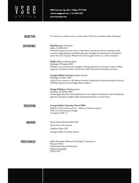 Cv Footer great header and footer look on the this resume