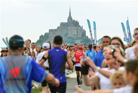 marathon du mont st michel 28 images 10 km et marathon du mont michel plus 10 km et