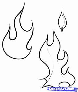 Draw a Flame, Step by Step, Drawing Sheets, Added by Dawn ...