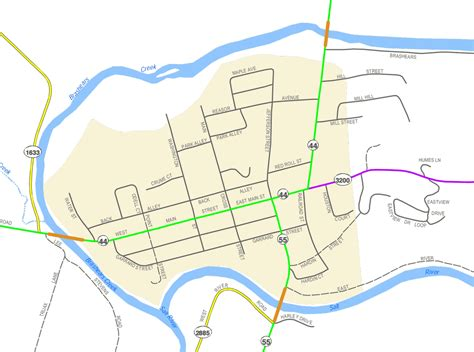 maps spencer county taylorsville kentucky