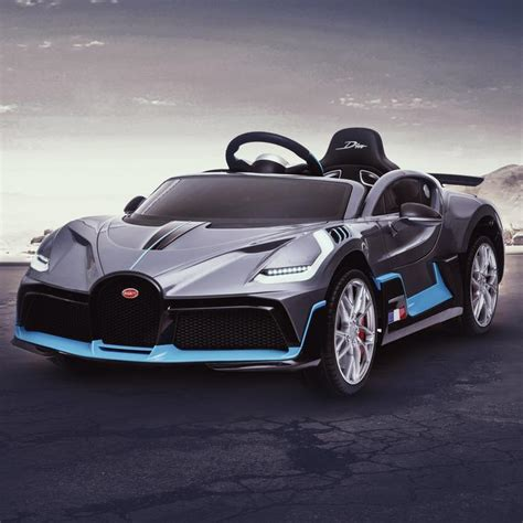 With its futuristic and ferocious design and its completely different personality. Licensed Buggati Divo 12V Battery Electric Ride On Car