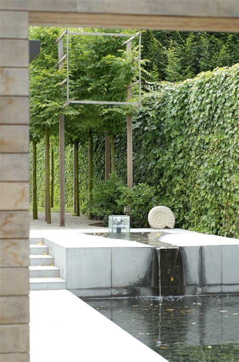 Gartengestaltung Modern Mit Wasser by 1001 Beispiele F 252 R Moderne Gartengestaltung