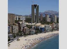 Spanien AufzugPosse um Wolkenkratzer in Benidorm WELT