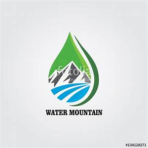 Water Logo with Mountains - Bing images