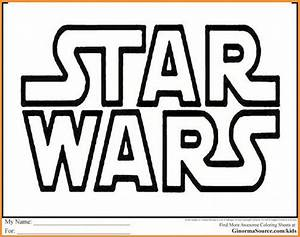 Star Wars Schriftzug : malvorlagen star wars schrift rooms project ~ A.2002-acura-tl-radio.info Haus und Dekorationen