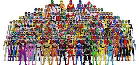 all of sentai by taiko554 on deviantart