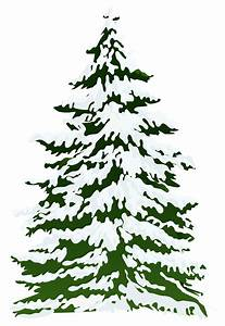 Winter clipart pine tree - Pencil and in color winter ...