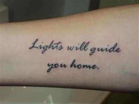 forearm word tattoos