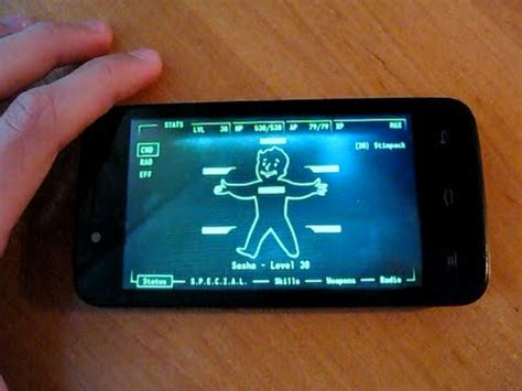 fallout 3 android my fallout 3 pip boy app for android v1 5