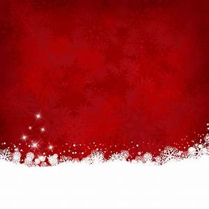 Red christmas background with snow Vector   Free Download