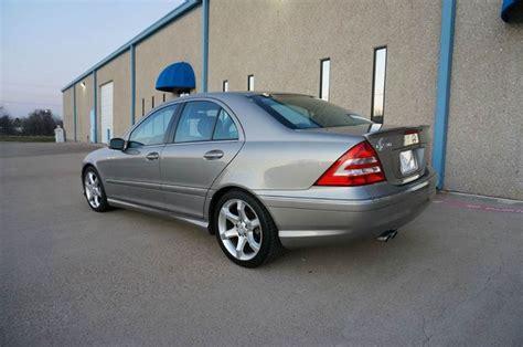 19 city / 25 hwy. 2007 Mercedes-Benz C-Class C230 Sport 4dr Sedan In Grand Prarie TX - TopGear Motorcars