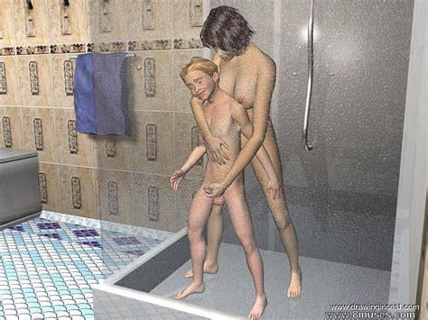Bathroom Procedures Make Mom And Son Closer Porn Toon