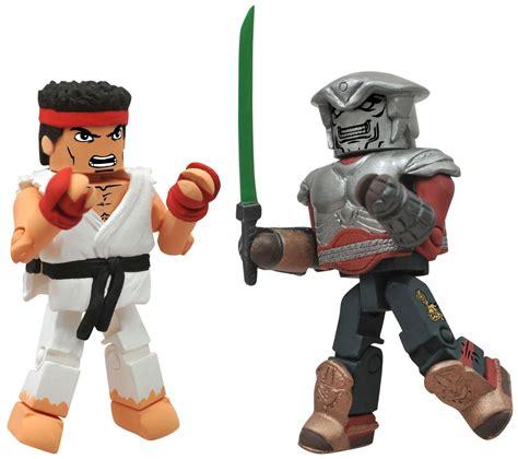 Street Fighter X Tekken Minimates Series 2 Ryu Vs