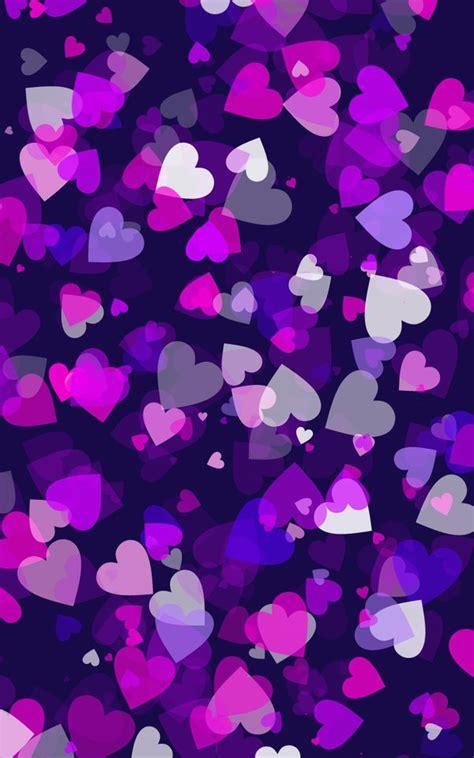 purple hearts wallpaper gallery